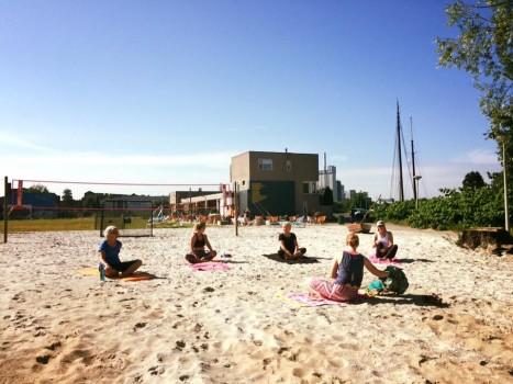 Eten drinken strand