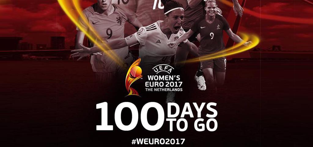 Women's Euro 2017 - 100 days to go