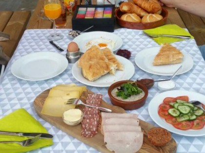 Ontbijten @ IJsselkade